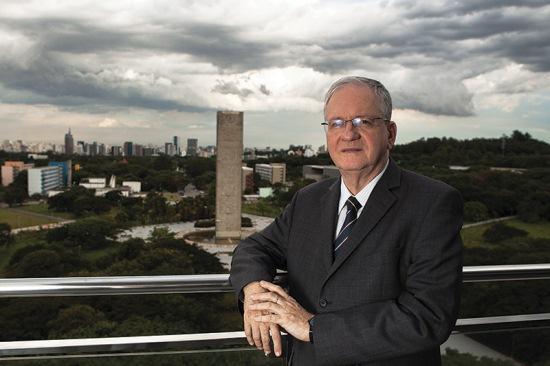 Zago, novo reitor da USP: fama de conciliador (foto: Rodrigo Dionisio/Frame)