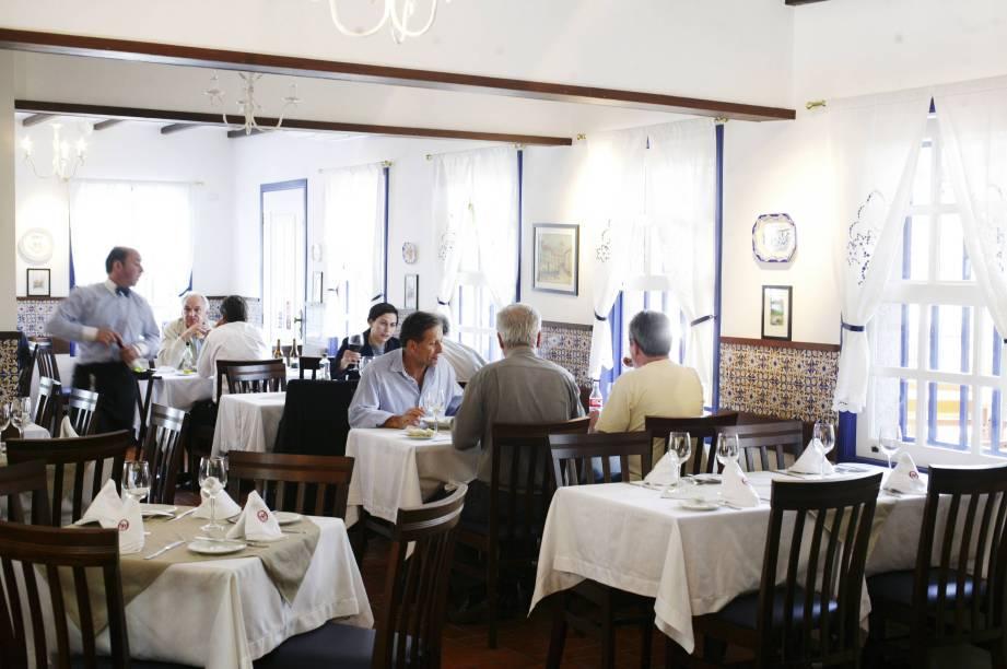 Ambiente do restaurante Quinta de Santa Maria
