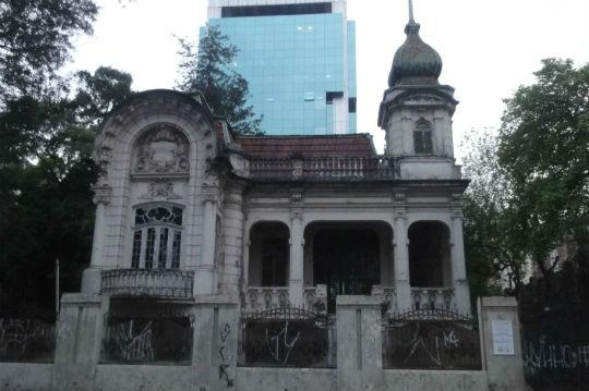 Casarão tombado - Casarão da Avenida Paulista