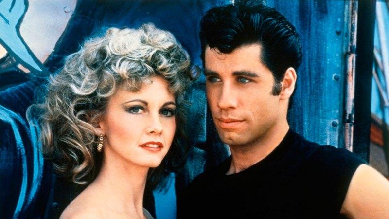 Grease - Nos Tempos da Brilhantina: Danny (John Travolta) e Sandy (Olivia Newton-John)