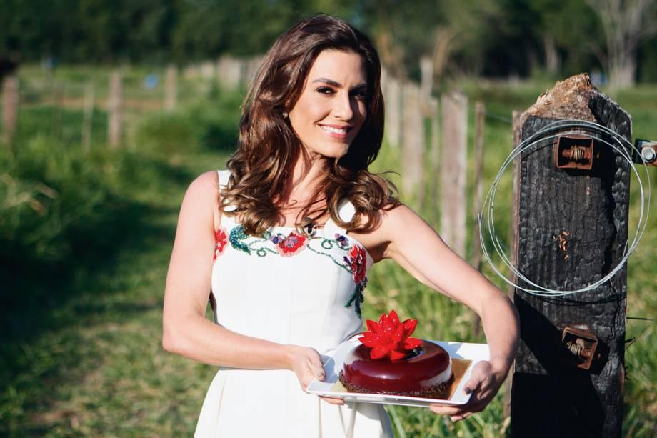 Ticiana Villas Boas: duas aulas de cupcakes na sexta (10)