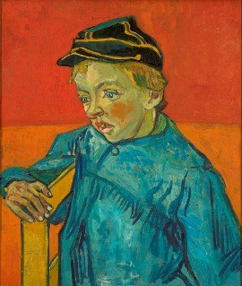 O Escolar (O filho do carteiro - Gamin au Képi) , 1888