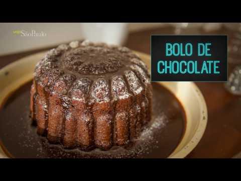 Receita: bolo de chocolate