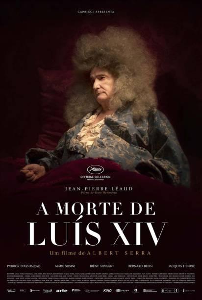 Pôster do filme 'A Morte de Luís XIV'