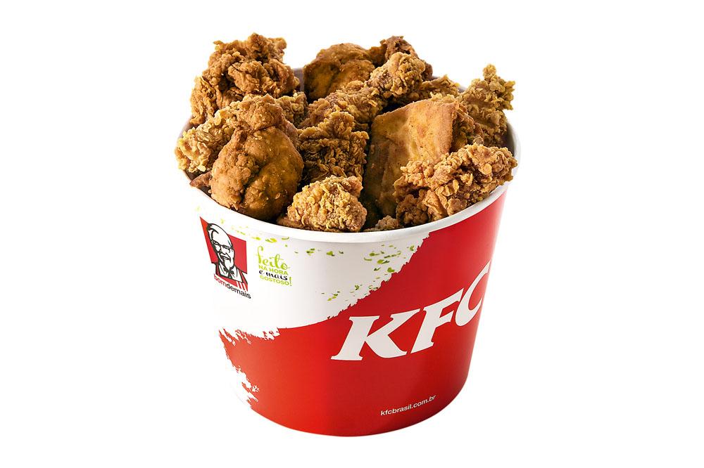 Balde de frango frito do KFC (Foto: Divulgação)