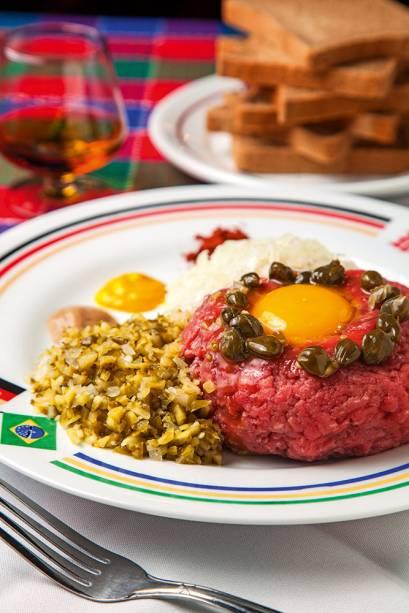Steak tartare: a versão deste alemão se chama beef tartar e é feita com patinho moído