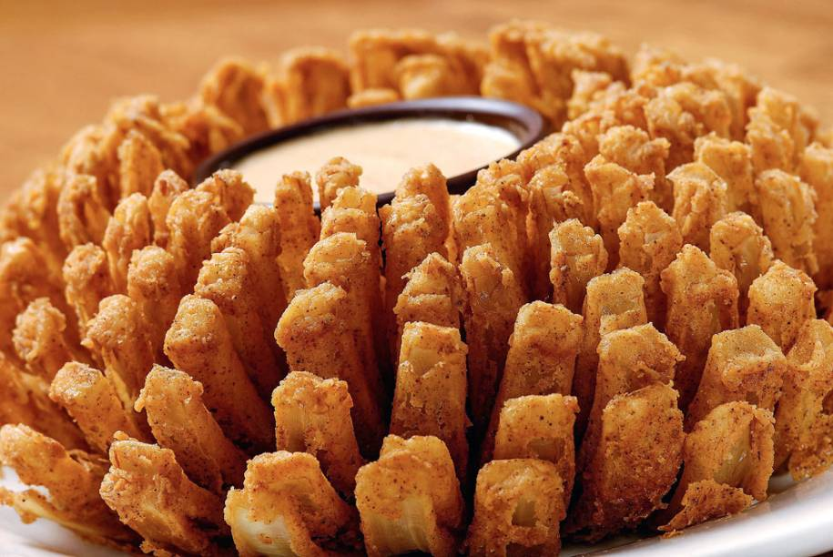 Bloomin' onion do Outback
