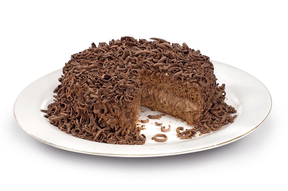 Bolo mousse de chocolate do Amor aos Pedaços (Foto: Divulgação)