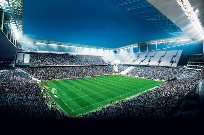 Arena Corinthians, Estádio do Itaquerão, no bairro do Itaquera.