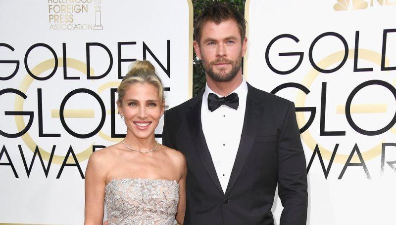 Chris Hemsworth levou a esposa, Elsa Pataky