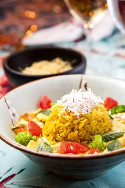 Moqueca vietnamita de vegetais: sugestão do Condessa Bistrô