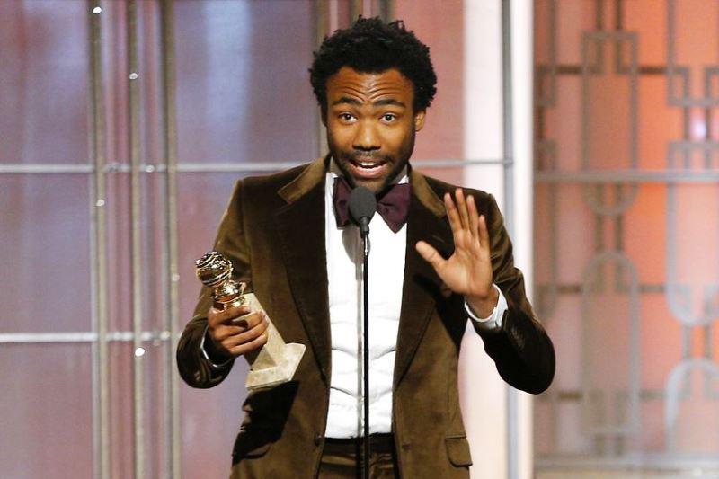 Donald Glover foi premiado como melhor ator de seriado/comédia por Atlanta