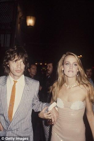 Mick Jagger e Jerry Hall: casamento de quase dez anos acabou após gravidez de Gimenez