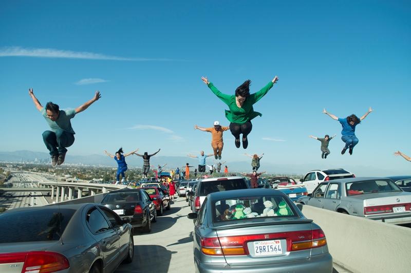 A magistral cena de abertura de 'La La Land'