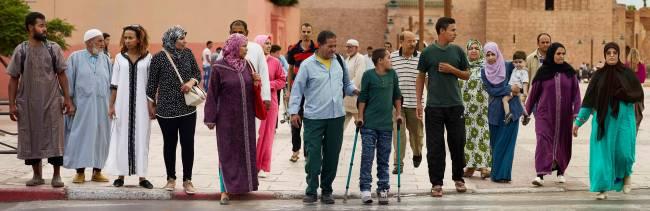Fotografia tirada em Marrakech, no Marrocos