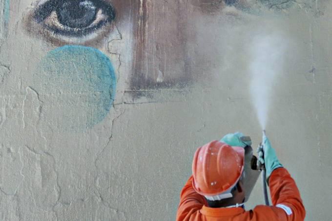 grafite prefeitura
