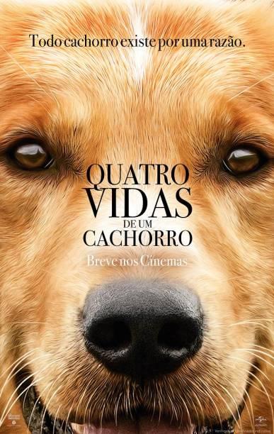 Pôster do filme 'Quatro Vidas de um Cachorro'