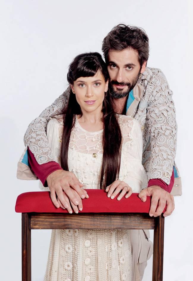 Mel Lisboa e Flavio Tolezani: Roque Santeiro no teatro (Foto: Priscila Prade)