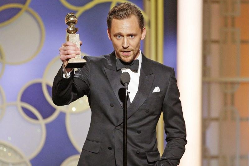 Tom Hiddleston também ganhou prêmio: melhor ator de minissérie por The Night Manager