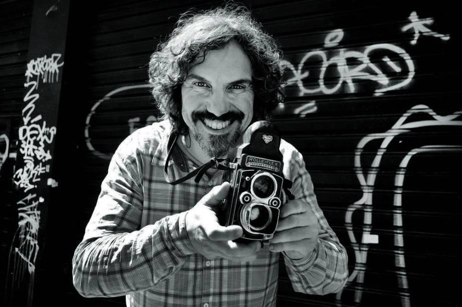 O fotógrafo Reinaldo Canato (Foto: Itaci Batista)
