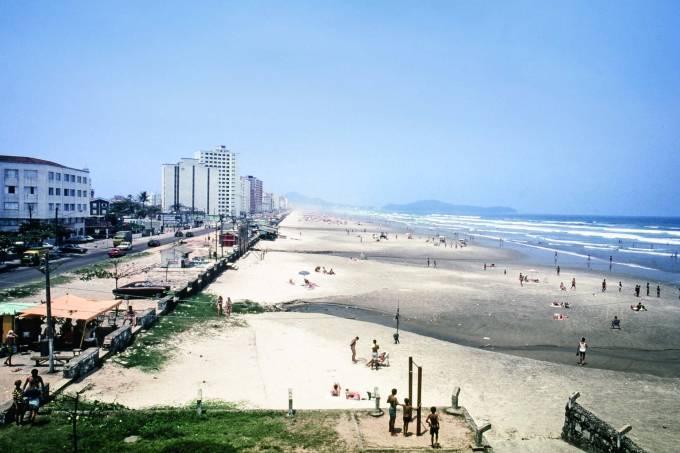 Cidade Ocian, na Praia Grande. 1988.