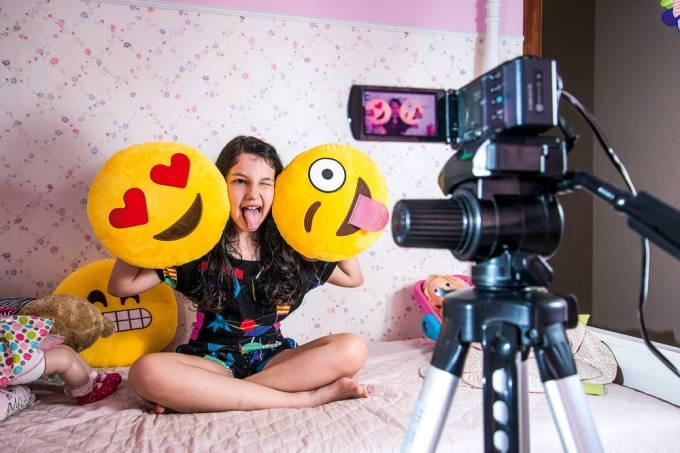 Youtubers Mirins – Luíza, do Crescendo com Luluca