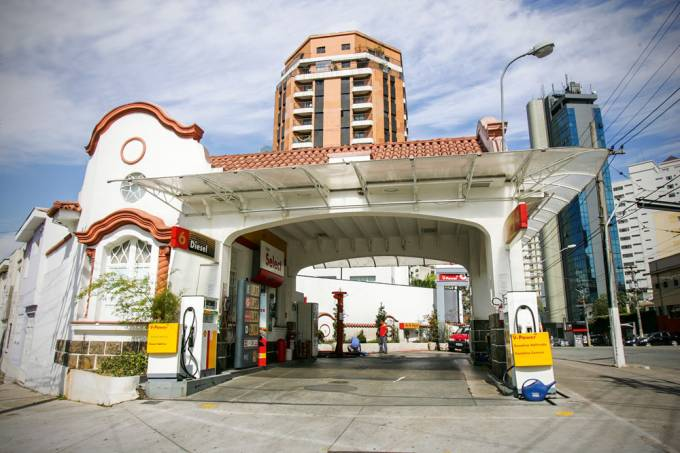 Posto de gasolina mais antigo da cidade de S¿o Paulo