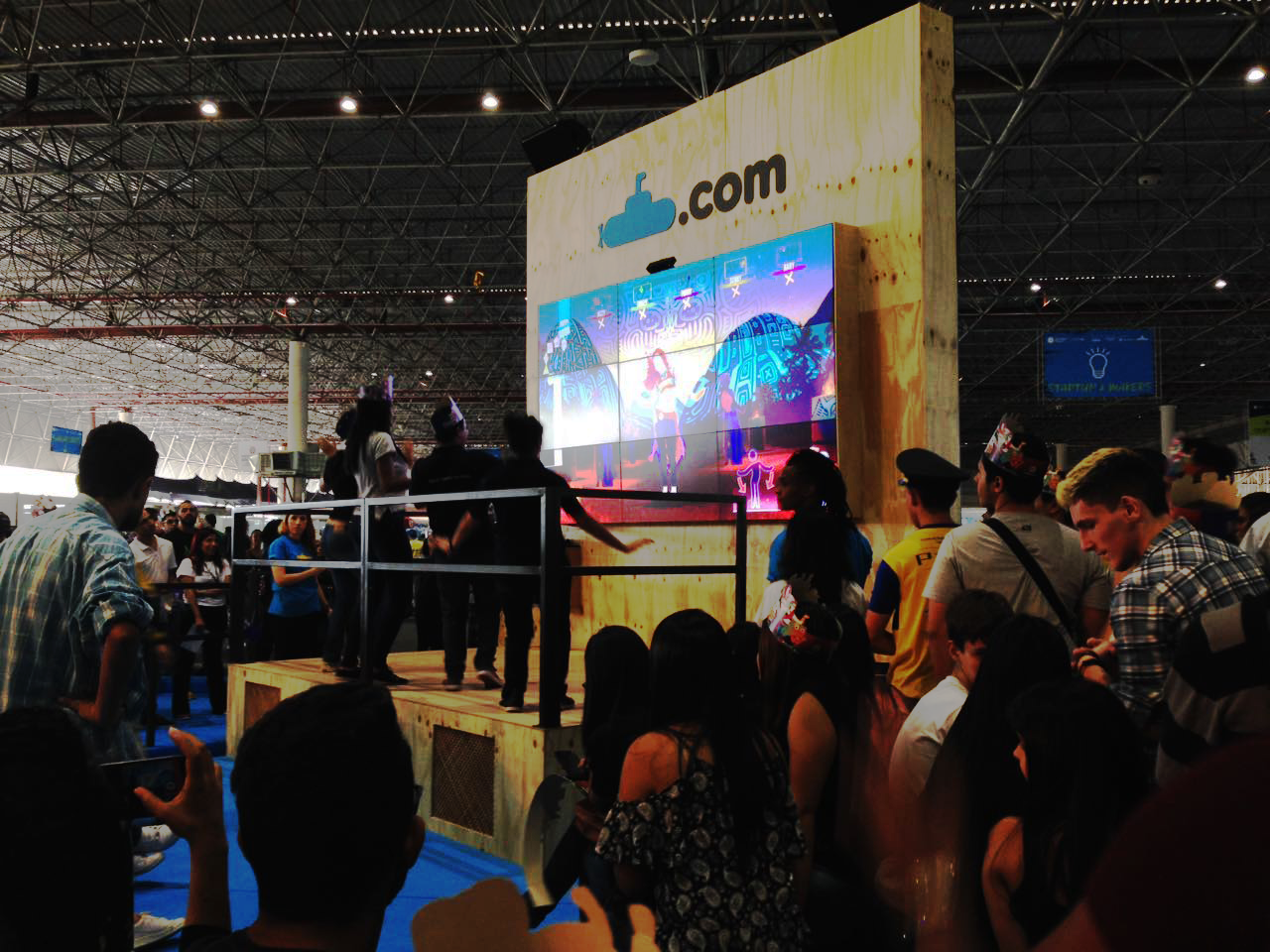 Campeonato de dança: final será realizada em palco principal (Créditos: Veja São Paulo)