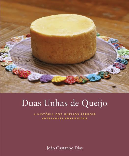 'Duas unhas de queijo': capa do livro