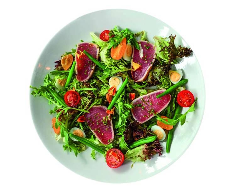 A salada niçoise