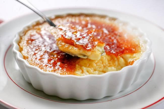 Creme brûlé: sobremesa do L'Entrecôte d'Olivier