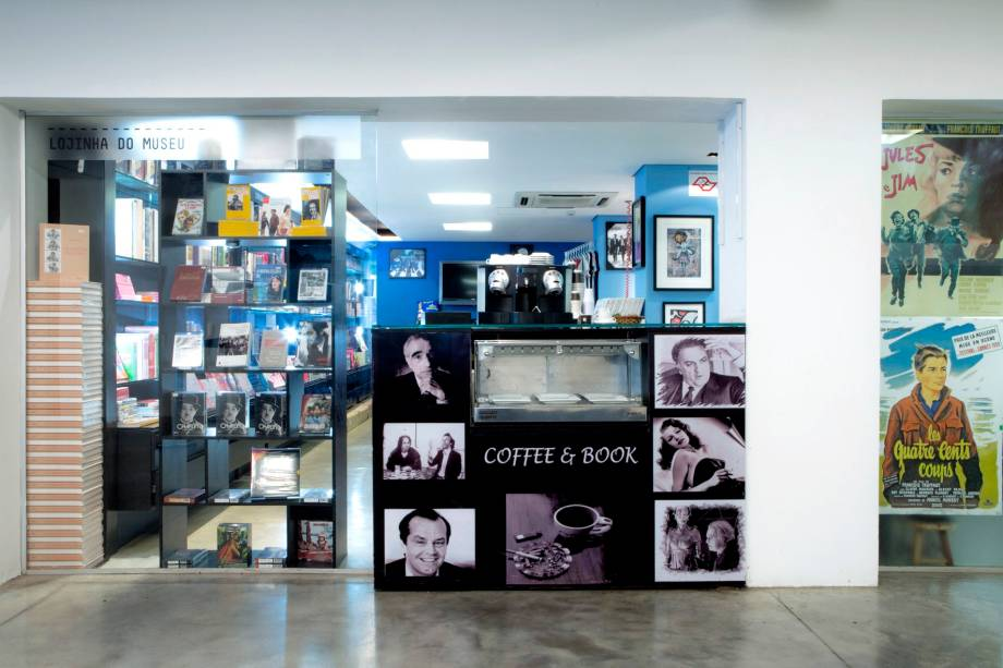 Museu da Imagem e do Som - MIS: lojinha do museu