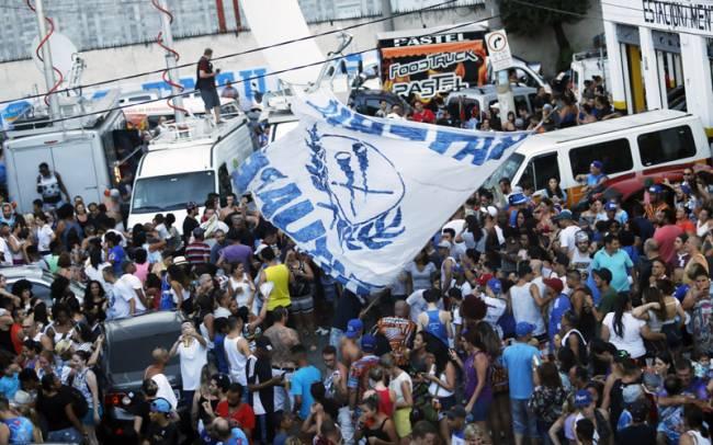 Quadra do Acadêmicos do Tatuapé: comemoração pelo Carnaval 2017