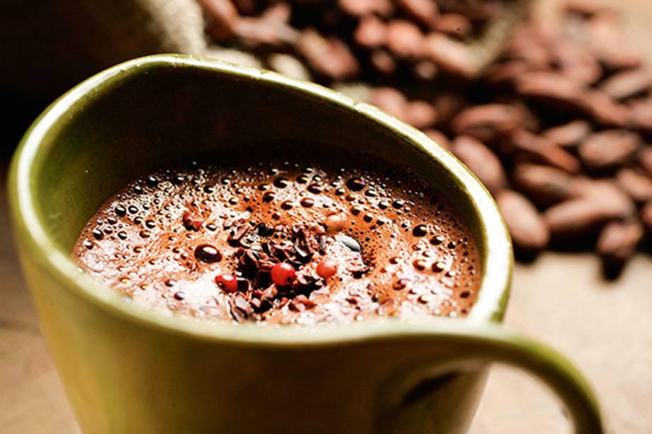 Casa do Sabor AMMA: chocolate do pajé