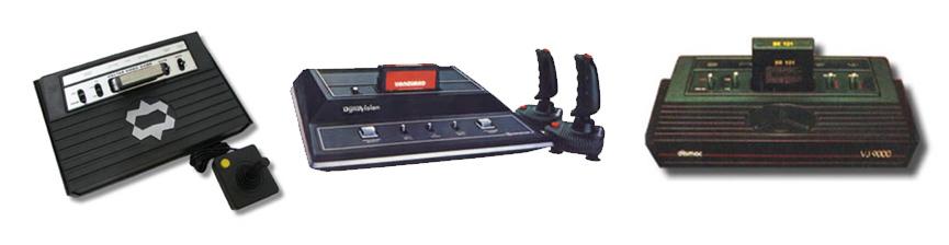 """Dactari, Dynavision, VJ9000: empresas começaram a fabricar """"clones"""" do Atari para vender no Brasil"""