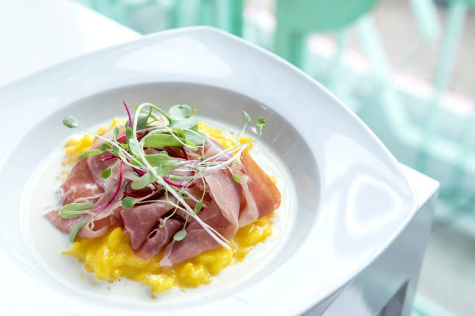 Risoto com presunto de Parma Seara Gourmet