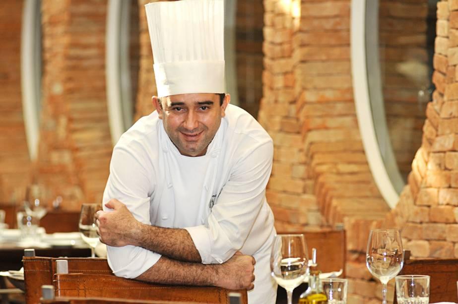 Francisco Gameleira, do restaurante A Figueira Rubaiyat: chef lecionará curso para crianças e contará com um estande que vende pratos como atarte tatin (10 reais).
