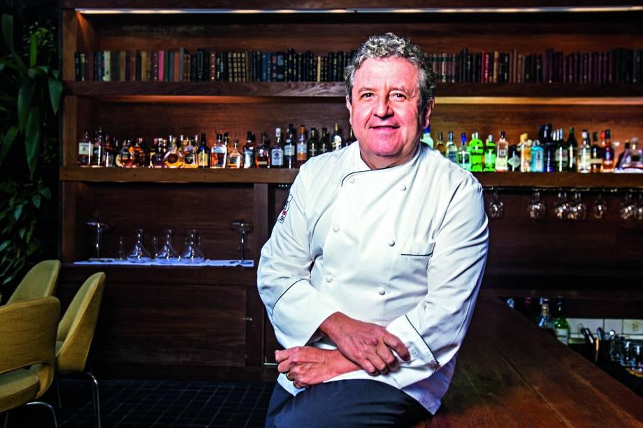Chef francês Laurent Suaudeau