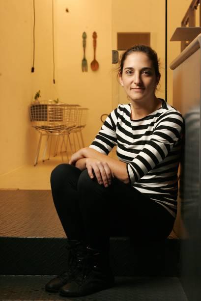 Marilia Zylbersztajn, da confeitariahomônima: apresenta doces como a torta de limão-siciliano (15 reais)