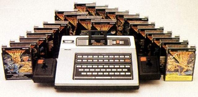 Odyssey: primeiro vídeogame lançado por uma grande empresa no mercado nacional baseado em cartuchos