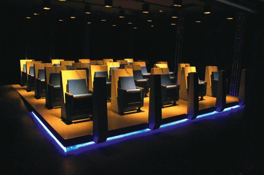 Sala de realidade virtual do Catavento: para 25 pessoas