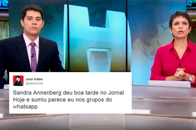 sandra-annenberg-evaristo-costa-saia-justa-jornal-hoje
