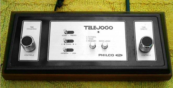 Telejogo (1977): um aprimoramento do Telegame americano da Atari