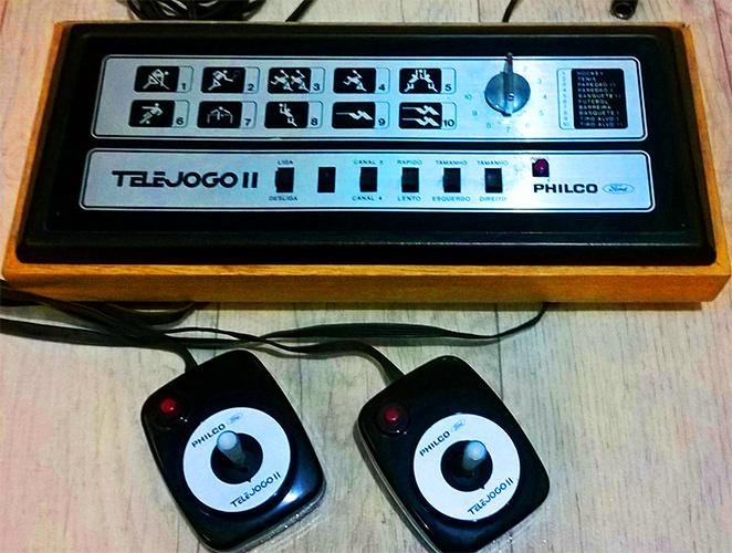 Telejogo II (1979): dez jogos e joysticks separados do console