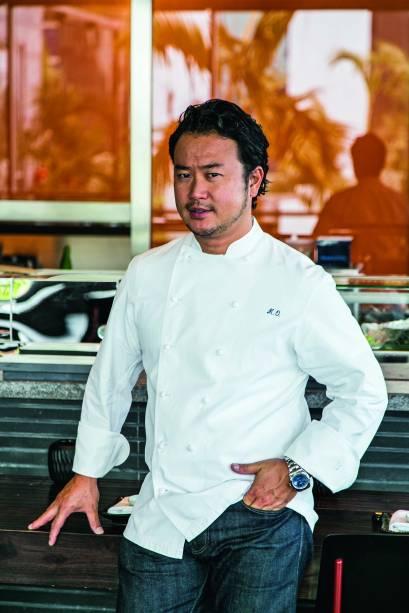 chef Makoto Okuwa: jantares no japonês UN