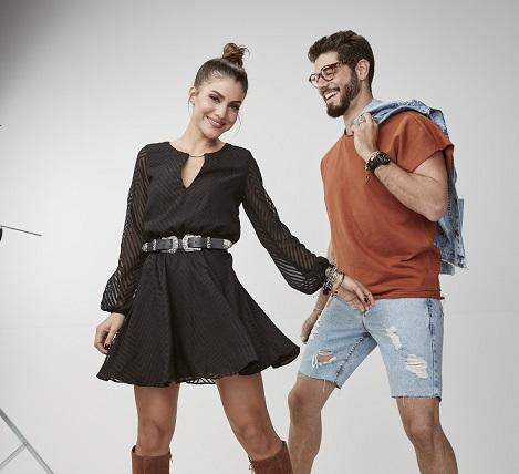 Riachuelo Camila Coelho e Kadu Dantas