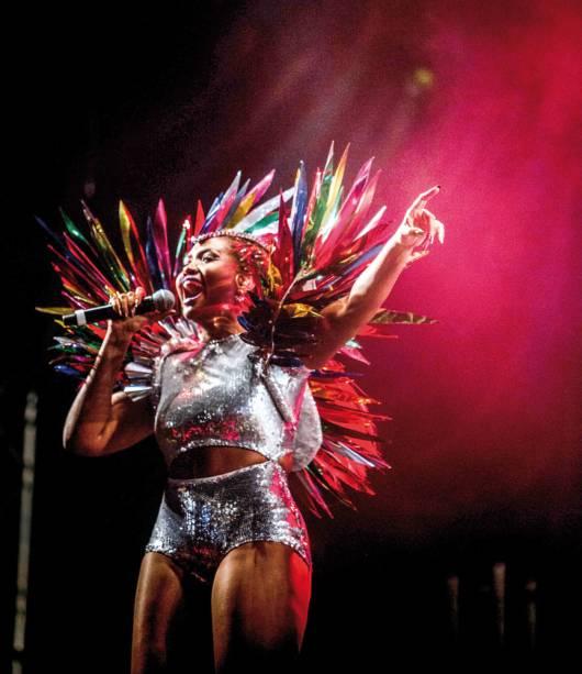 Gaby Amarantos: festa com ritmos caribenhos na unidade de Santana