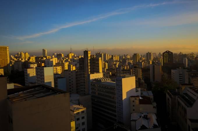 Amanhecer em São Paulo