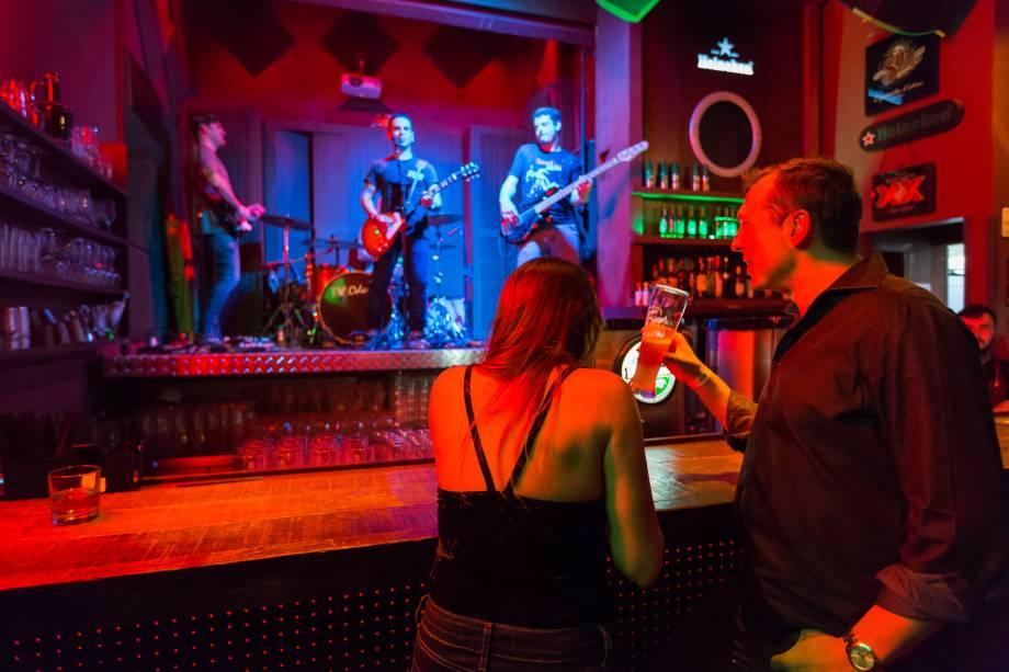 Grainne's Irish Pub: melhor bar de música ao vivo