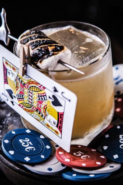 Sky Hall Terrace Bar: drinque texas holden